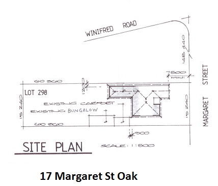 Site Plan 17 Margaret St net
