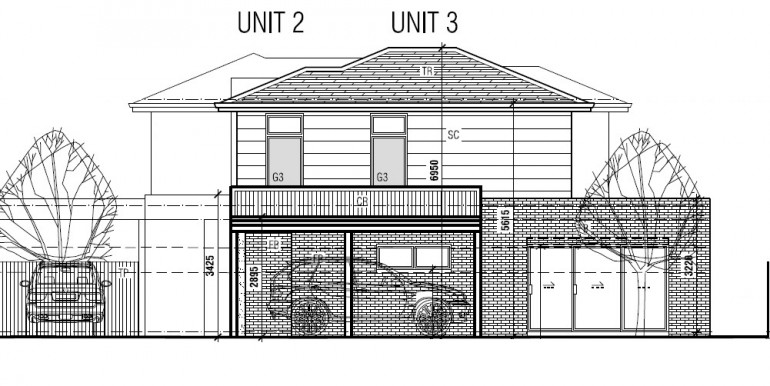 2 Unit Elevation