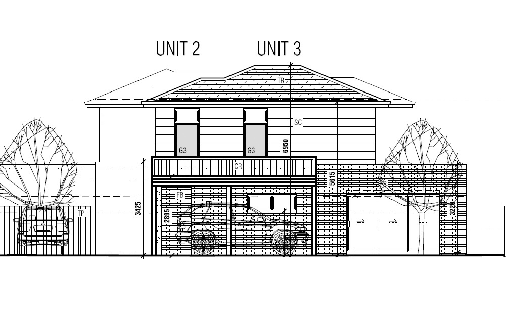 Unit 2 and 3/9 Chingford St. Fairfield