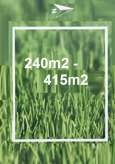 4 land size grass