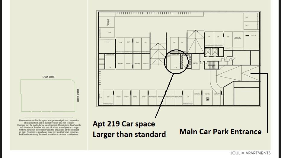 9 Car Park Location